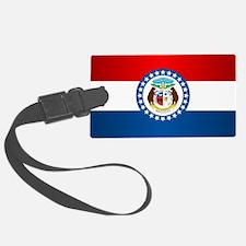 Missouri Flag Luggage Tag