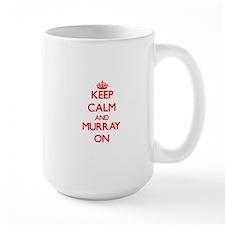 Keep Calm and Murray ON Mugs