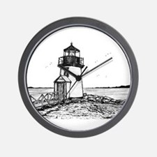 Brant Pointe Lighthouse Wall Clock