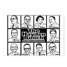 The Hayden Bunch 2015 Postcards (package Of 8)
