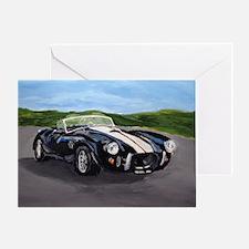 Cute Classic cars Greeting Card