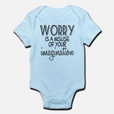 Worry Misuse Imagination Infant Bodysuit