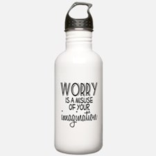 Worry Misuse Imaginati Water Bottle