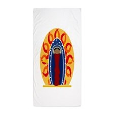 Cute Our lady guadalupe Beach Towel