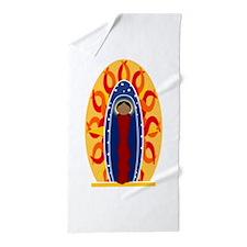 Cute Catholicism Beach Towel