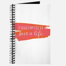 Brush Stroke - Fight the Itch. Save a Life Journal