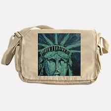 Cute New york landmark Messenger Bag