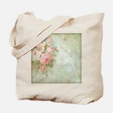 Chic vintage pink rose Tote Bag