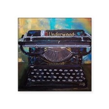 Classic Underwood Typwriter Sticker