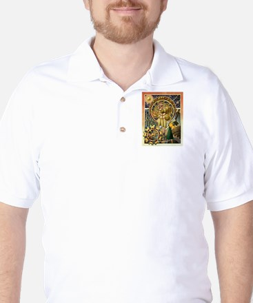 Clockwork Universe Clr Golf Shirt
