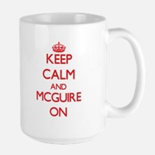 Keep Calm and Mcguire ON Mugs