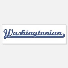 Washingtonian (sport) Bumper Bumper Bumper Sticker