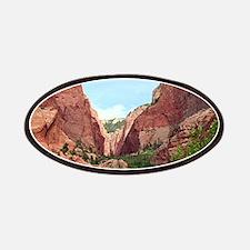 Kolob Canyons, Zion National Park, Utah, USA Patch