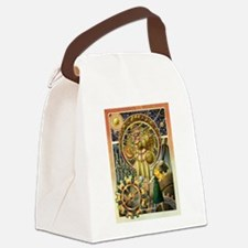Clockwork Universe Clr Canvas Lunch Bag
