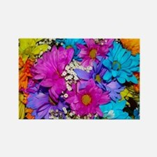 Daisies Delight Rectangle Magnet