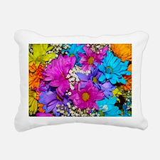 Daisies Delight Rectangular Canvas Pillow
