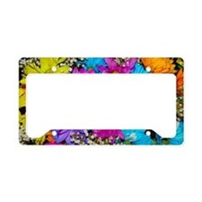 Daisies Delight License Plate Holder