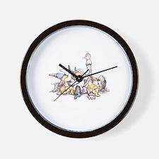 Cute Scurvy Wall Clock