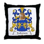 Salomon Family Crest  Throw Pillow