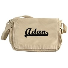 Adan Classic Retro Name Design Messenger Bag