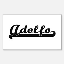 Adolfo Classic Retro Name Design Decal