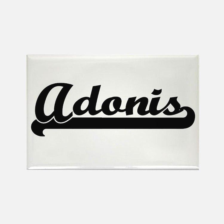 Adonis Classic Retro Name Design Magnets