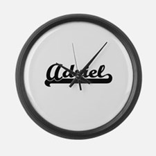 Adriel Classic Retro Name Design Large Wall Clock