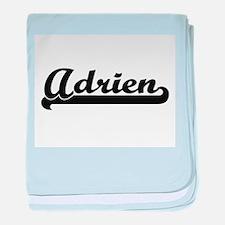 Adrien Classic Retro Name Design baby blanket