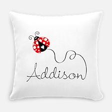 Ladybug Addison Everyday Pillow