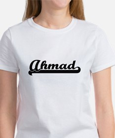 Ahmad Classic Retro Name Design T-Shirt