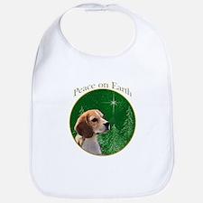 Beagle Peace Bib