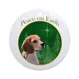 Beagle Round Ornaments