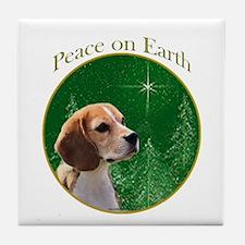 Beagle Peace Tile Coaster