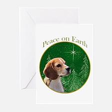 Beagle Peace Greeting Cards (Pk of 10)