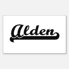 Alden Classic Retro Name Design Decal