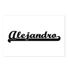 Alejandro Classic Retro N Postcards (Package of 8)