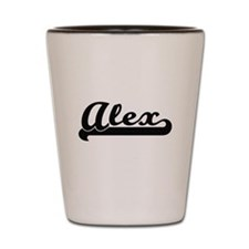 Alex Classic Retro Name Design Shot Glass