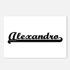Alexandro Classic Retro N Postcards (Package of 8)