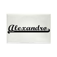 Alexandro Classic Retro Name Design Magnets