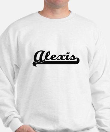 Alexis Classic Retro Name Design Sweater