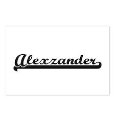 Alexzander Classic Retro Postcards (Package of 8)