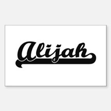 Alijah Classic Retro Name Design Decal