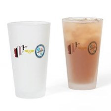 Unique Aviation boatswains mate Drinking Glass