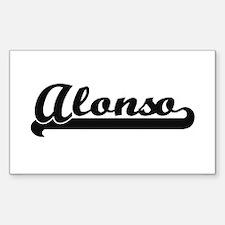 Alonso Classic Retro Name Design Decal