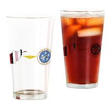 Unique Uss nimitz Drinking Glass