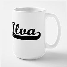 Alva Classic Retro Name Design Mugs