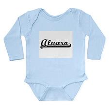 Alvaro Classic Retro Name Design Body Suit