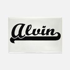 Alvin Classic Retro Name Design Magnets