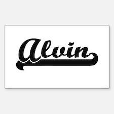 Alvin Classic Retro Name Design Decal