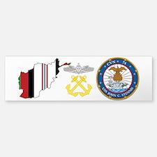 Uss John C Stennis Oef Bm/sw Bumper Bumper Bumper Sticker
